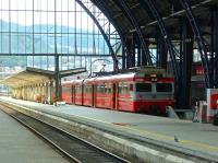 A local train for Arna stands in Bergen station on 13 August 2012.<br><br>[Bruce McCartney&nbsp;13/08/2012]