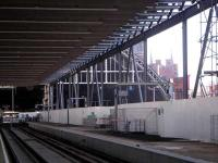 St Pancras (New) looking into the old trainshed.<br><br>[Neville Davies&nbsp;//]