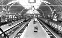 View from the footbridge at Paddington in May 1969.<br><br>[John Furnevel&nbsp;05/05/1969]