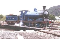 Caledonian Railway 0-6-0 No828 on the turntable at Aviemore.<br><br>[John Gray&nbsp;//]