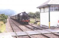 44767 arriving at Arisaig from Fort William in July 1994.<br><br>[John Gray&nbsp;//]