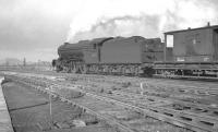Heaton based V2 2-6-2 no 60913 photographed at the north end of the yard there on 25 May 1963. <br><br>[K A Gray&nbsp;25/05/1963]