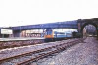 General view of Bradford Forster Square station in June 1989.<br><br>[Ian Dinmore&nbsp;/06/1989]