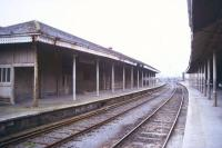 View through Mullingar station, County Westmeath, in April 1996.<br><br>[Ian Dinmore&nbsp;/04/1996]