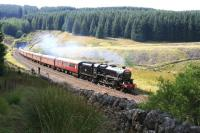 45305 with <I>'The Waverley'</I> York - Carlisle charter at the northern portal of Blea Moor tunnel on 9 September 2012.<br><br>[Peter Rushton&nbsp;09/09/2012]