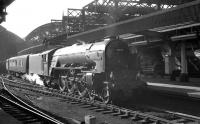 A1 Pacific no 60147 <I>North Eastern</I> with a train at Newcastle Central in the 1960s.<br><br>[K A Gray&nbsp;//]