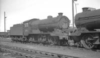 Gresley J38 0-6-0 no 65915 on shed at Thornton Junction, thought to have been photographed on 19 October 1965. The locomotive was eventually withdrawn from here just over a year later.<br><br>[K A Gray&nbsp;19/10/1965]