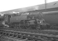 BR Standard Class 4 2-6-4T no 80007 photographed on St Margarets shed in early 1965.<br><br>[K A Gray&nbsp;//1965]