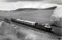 GNSR 49 in the neighbourhood of Inverythan, mid way between Auchterless and Fyvie, with the 1960 RCTS/SLS Joint Scottish Tour. <br><br>[WA Camwell (Copyright Stephenson Locomotive Society)&nbsp;13/06/1960]