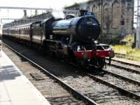 Ex LNER no 61994 The Great Marquess after arrival at Carlisle with the Fellsman tour via the S&C. <br><br>[Ken Browne&nbsp;08/08/2012]