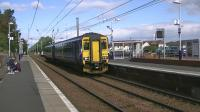 Super Sprinter no 156513 runs through Barassie with 1K95, a non stop service from Glasgow Central to Stranraer via Kilwinning and Irvine<br><br>[Ken Browne&nbsp;26/09/2012]