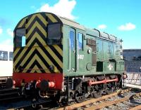 Preserved diesel shunter D4157 (TOPS 08927) at NRM Shildon in October 2012. [See image 42036]<br><br>[Colin Alexander&nbsp;13/10/2012]