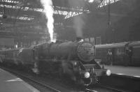 44956 prepares to leave Edinburgh Princes Street on 19 April 1965 with the 10.20am train for Lanark.<br><br>[K A Gray&nbsp;19/04/1965]