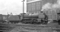 Maunsell 2-6-0 no 31409 in the shed yard at Stewarts Lane in the late 1950s.<br><br>[K A Gray&nbsp;//]