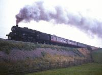 Black 5 no 45274 battles up Shap with a train in the 1960s.<br><br>[Robin Barbour Collection (Courtesy Bruce McCartney)&nbsp;//]