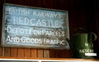 Sign in the museum at Boat of Garten in October 1999. [See image 40605]<br><br>[Colin Miller&nbsp;06/10/1999]