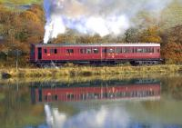Broadside view of restored GWR Steam Railmotor no 93 photographed near Terras Crossing between Looe and Sandplace on 18 November 2012.<br><br>[Ian Dinmore&nbsp;18/11/2012]