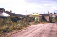Approach to the former Tavistock North station in August 1976, just over 8 years after closure.<br><br>[Ian Dinmore&nbsp;/08/1976]