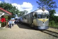 The 'Valley Rattler' at Kandanga, Queensland, bound for Gympie on 31 May 2005 in the warm sunshine <br><br>[Colin Miller&nbsp;31/05/2005]
