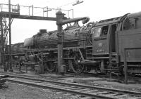 One of the last surviving class 012 Pacifics operating between Rheine and Emden / Norddeich was No. 012 063, seen here in the shed yard at Rheine on 7th September 1974. <br><br>[Bill Jamieson&nbsp;07/09/1974]