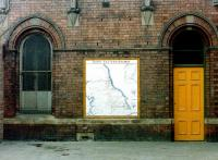 A neglected-looking corner of Tynemouth station in 1981.<br><br>[Colin Alexander&nbsp;//1981]