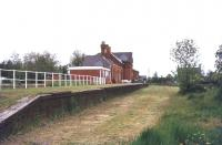 The former station at Mildenhall, Suffolk, in 1978. The station closed to passengers in June 1962.<br><br>[Ian Dinmore&nbsp;//1978]