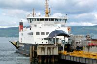 MV <I>Bute</I> seen shortly after arrival at Wemyss Bay from Rothesay on 1 June 2012.<br><br>[Colin Miller&nbsp;01/06/2012]