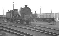 J20 0-6-0 no 64690, a visitor from 31B March, stands in the shed yard at Toton on 28 August 1960. In the background is local 3F 0-6-0T no 47231. <br><br>[K A Gray&nbsp;28/08/1960]