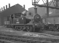 J72 0-6-0T no 69005 in the shed yard at Gateshead in October 1962.<br><br>[K A Gray&nbsp;06/10/1962]