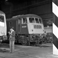 <I>'Great, that's the 84s cleared off!'</I> Carlisle Diesel <br> Depot open day on Saturday 4th September 1976. <br><br>[Bill Jamieson&nbsp;04/09/1976]