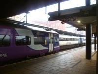 The 12.49 Northern Rail service to Carlisle stands at Leeds on 8 March 2013.<br><br>[Bruce McCartney&nbsp;08/03/2013]