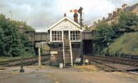 The east box at Bishop Auckland in 1977 [see image 11737].<br><br>[Ian Dinmore //1977]