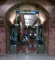 The 'Eurostar' ticket office at St Pancras in February 2013 - a masterful blend of the old and the new.<br><br>[Ken Strachan&nbsp;05/02/2013]