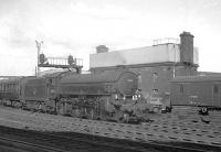 B1 4-6-0 no 61224 with an unidentified train bypassing Newcastle Central in the early 1960s. The locomotive ended its operational life at Wakefield in the summer of 1966. <br><br>[K A Gray&nbsp;//]