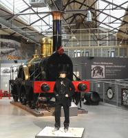 The man himself. Isambard Kingdom Brunel. The impressive waxwork on display at the Museum of the Great Western Railway in Swindon on 20 March 2013.<br><br>[Peter Todd&nbsp;20/03/2013]