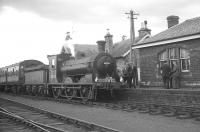 The SLS/BLS Railtour at Haddington on 29 August 1964. The tour, which ran from Waverley, was headed by J36 no 65234 throughout hauling ex-Talisman stock. [See image 2203] <br><br>[K A Gray&nbsp;29/08/1964]