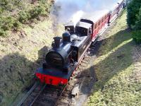 Robert Stephenson 0-6-0T <I>Twizell</I> (2730/1891) in action on the Tanfield Railway on 30 March 2013. The locomotive is seen departing from Andrews House with a train for Sunniside.<br><br>[Colin Alexander&nbsp;30/03/2013]