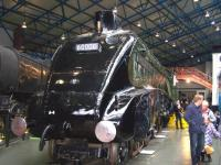 Gresley A4 Pacific no 60008 <I>Dwight D Eisenhower</I> at the NRM, York, on 8 April. <br><br>[Colin Alexander&nbsp;08/04/2013]