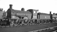 J36 0-6-0 no 65344 on Bathgate shed, thought to have been taken in 1959.<br><br>[K A Gray&nbsp;//1959]