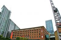 The former GNR Goods Warehouse at Deansgate, Manchester, in September 2009.<br><br>[Ian Dinmore&nbsp;/09/2009]