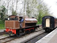 Ex-Wemyss Private Railway 0-6-0T no 15 at Avon Riverside on 29 April 2013. [See image 42888]<br><br>[Peter Todd&nbsp;29/04/2013]