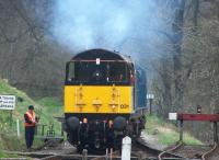 20031+20020 manoeuvering at Oxenhope on 28 April 2013.<br><br>[Colin Alexander&nbsp;28/04/2013]