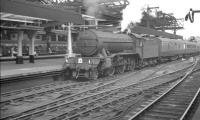 A summer Saturday arrival at Newcastle Central on 22 July 1961, featuring K3 2-6-0 no 61942 entering the station off the High Level Bridge with the 10.50am ex-Scarborough.<br><br>[K A Gray&nbsp;22/07/1961]