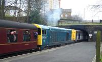 20031+20020 with a train at Ingrow West on 28 April.<br><br>[Colin Alexander&nbsp;28/04/2013]
