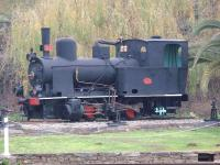 Regua, in the Douro Valley, had a mixed gauge depot with a fan of tracks around a turntable but no shed building. The last depot <I>switcher</I> was metre gauge 0-4-0T No. E1, built by Henschel in 1922, which would shunt locomotives of both gauges and make up narrow gauge freights. It was preserved on a plinth after withdrawal in the 1980s and can still be seen from the Regua station platforms. [See image 43368] of this locomotive when still in service.<br><br>[Mark Bartlett&nbsp;04/02/2007]