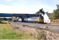 A Barnstaple train at Yeoford, Devon, in the 1980s<br><br>[Ian Dinmore&nbsp;//]