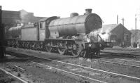 Gresley J39 0-6-0 no 64796 stands in the shed yard at Ardsley in September 1962, three months before its withdrawal.<br><br>[K A Gray&nbsp;08/09/1962]