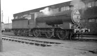 GN Class J6 0-6-0 no 64207 stands on Lincoln Shed in 1959. The locomotive was withdrawn in October that year.<br><br>[K A Gray&nbsp;//1959]