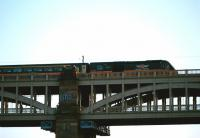 A Grand Central HST photographed crossing the High Level Bridge in June 2010. <br><br>[Veronica Clibbery&nbsp;10/06/2013]