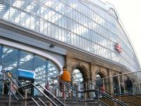Exterior of Liverpool Lime Street, June 2013.<br><br>[Veronica Clibbery&nbsp;21/06/2013]